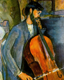 Modigliani, De cellist
