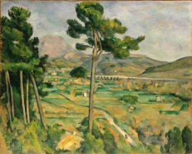 Cézanne, Mont Sainte-Victoire vanaf Bellevue