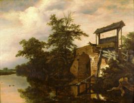 Van Ruisdael, Het verlaat (de schutsluis)