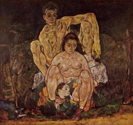 Schiele, De familie