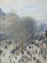 Monet, Boulevard des Capucinnes