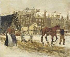 Breitner, Het Rokin in Amsterdam
