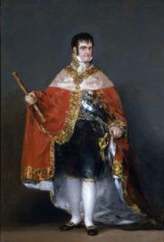 Goya, Koning Ferdinand VII van Spanje