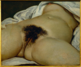 Courbet, De oorsprong van de wereld