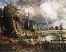 Constable, Salisbury Cathedral vanaf de weilanden