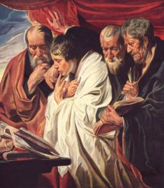 Jordaens, De vier evangelisten