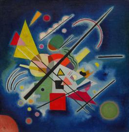 Kandinsky, Blauw schilderij