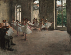 Degas, Balletrepetitie