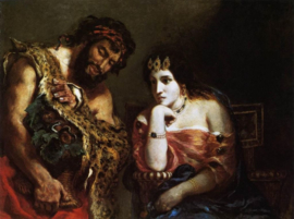 Delacroix, Cleopatra en de boer