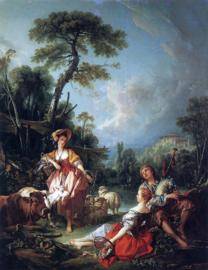 Boucher, Een zomerpastorale