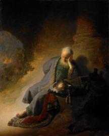Rembrandt, Jeremia treurend over de verwoesting van Jeruzalem