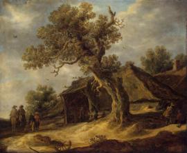 Van Goyen, Landschap met eik