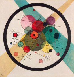 Kandinsky, Cirkels in een cirkel