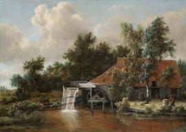 Hobbema, Een watermolen 2