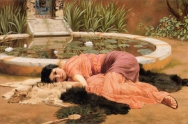 Godward, Sweet nothings (dolce far niente)
