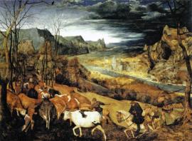 Bruegel, De terugkeer van de herders