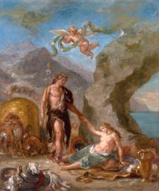 Delacroix, De herfst, Bacchus en Ariadne