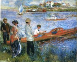 Renoir, Roeiers bij Chatou