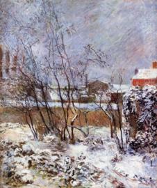 Gauguin, Sneeuw in de Rue Carcel