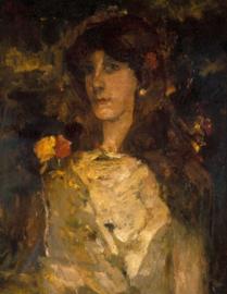 Breitner, Meisjesportret (Tingeltangelmeid)