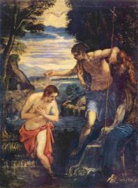 Tintoretto, De doop van Christus