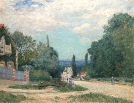 Sisley, De weg van Louveciennes