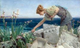Alma-Tadema, Tussen de ruïnes