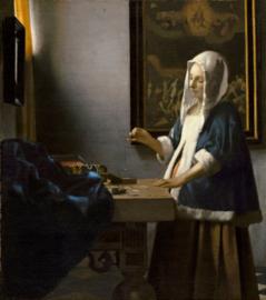 Vermeer, Dame met een weegschaal