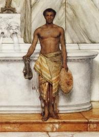 Alma-Tadema, Een badmeester