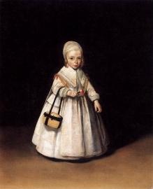 Ter Borch, Portret van Helena van der Schalcke
