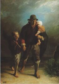 J. Israëls, Langs moeders graf
