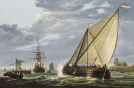 Cuyp, Schepen op de Maas te Dordrecht