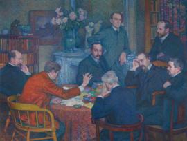 Van Rysselberghe, De lezing