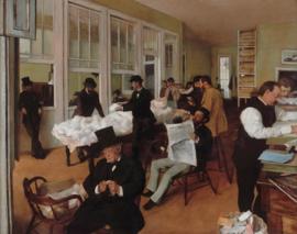 Degas, Een katoenkantoor in New Orleans