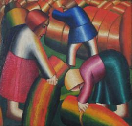 Malevich, De rogge binnenhalen