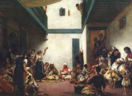 Delacroix, Joods huwelijk in Marokko
