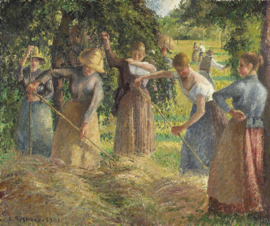 Pissarro, Hooitijd in Eragny