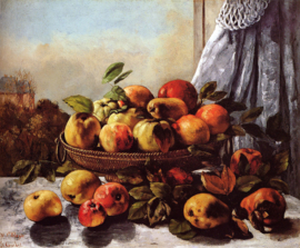 Courbet, Fruit stilleven