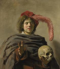 Hals, Man met een schedel