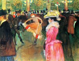 Toulouse-Lautrec, Dans in de Moulin Rouge