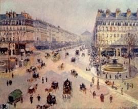 Pissarro, Avenue de l`Opera