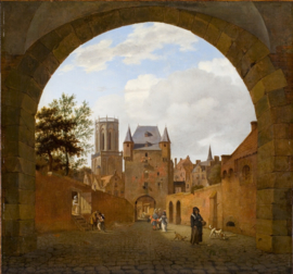 Van der Heyden, De waterpoort in Emmerich