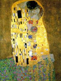 Klimt, De kus (uitsnede)