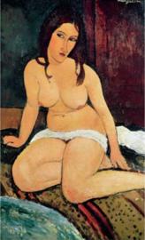 Modigliani, Zittend naakt