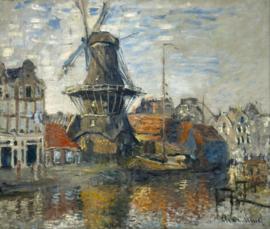 Monet, De windmolen op de Onbekende Gracht