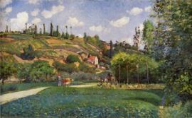 Pissarro, Een koeherder op de Route de Chou