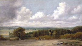 Constable, Ploegscene in Suffolk