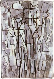 Mondriaan, Compositie bomen 2