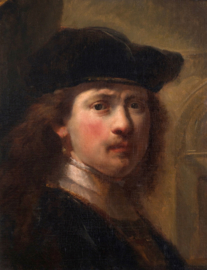 Flinck, Portret van Rembrandt