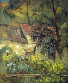 Cézanne, Huis van Lacroix in Auvers